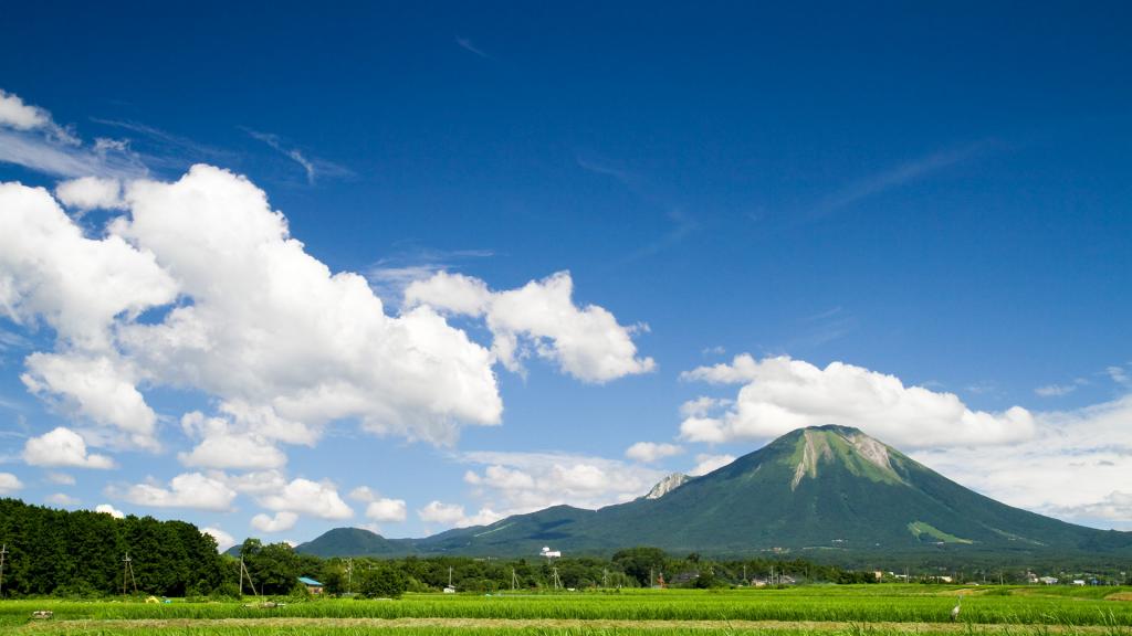 日本百名山のひとつにあげられる大山